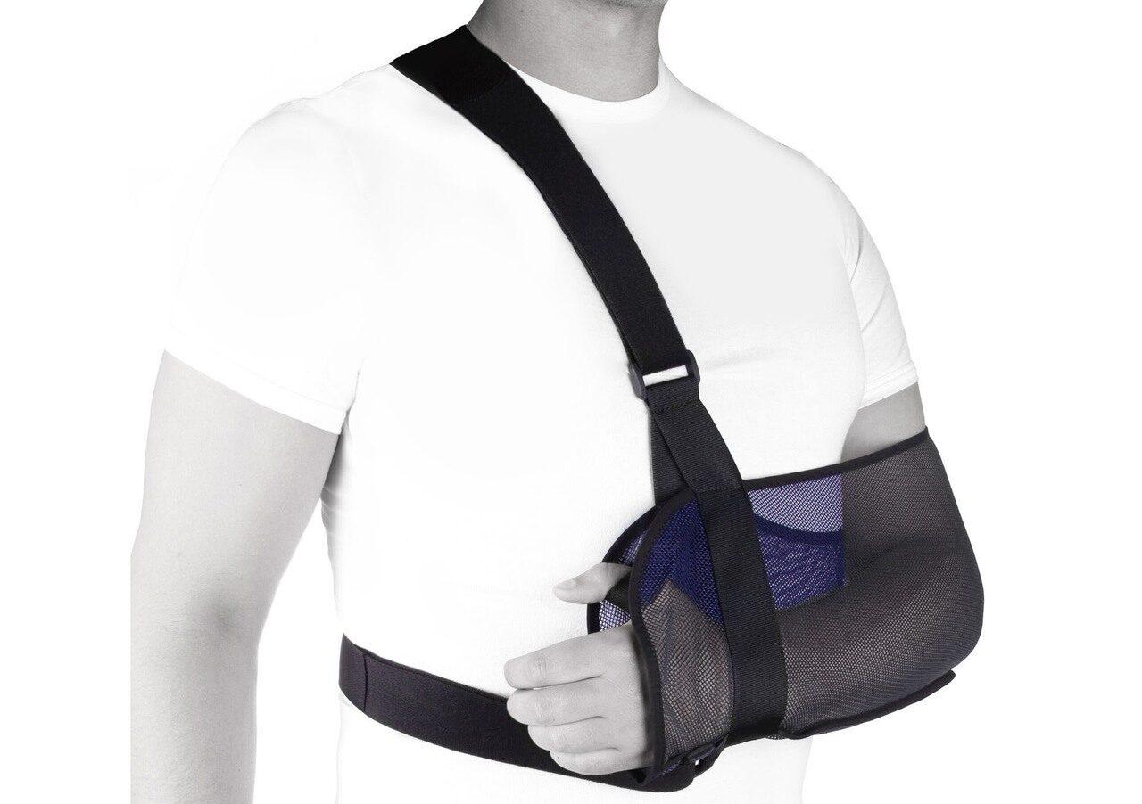 Плечевой бандаж косыночный своими руками